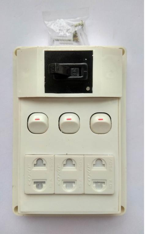 bảng điện nổi cao cấp taplo O3 + CB - 03CT