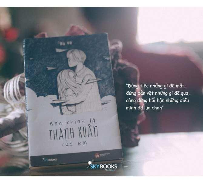 Mua Anh Chính Là Thanh Xuân Của Em - Tặng Bookmark Kẹp Sách
