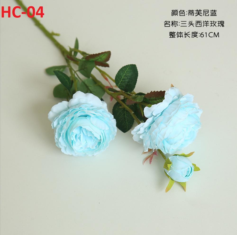 Hoa hồng giả lụa trang trí nhà cửa