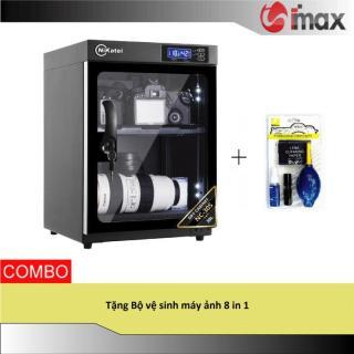 Tủ chống ẩm Nikatei NC-30S SILVER (30 lít) + Bộ vệ sinh máy ảnh 8 in 1 thumbnail