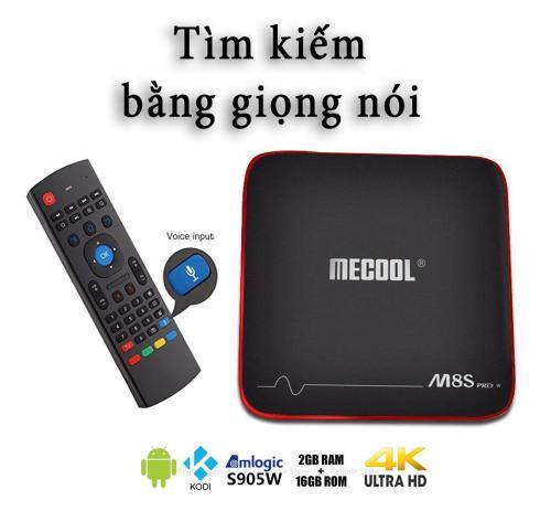 Android TV Box Mecool M8s Pro W RAM 2GB, ROM 16GB - AndroidTV OS, Điều  khiển chuột bay tích hợp tìm kiếm bằng giọng nói