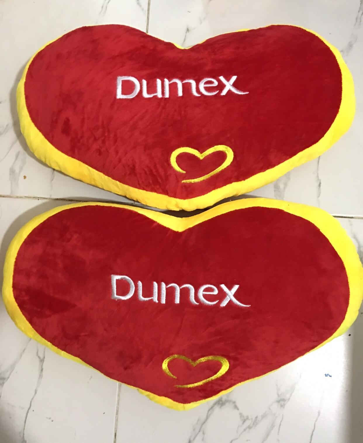 Gối trái tim Dumex