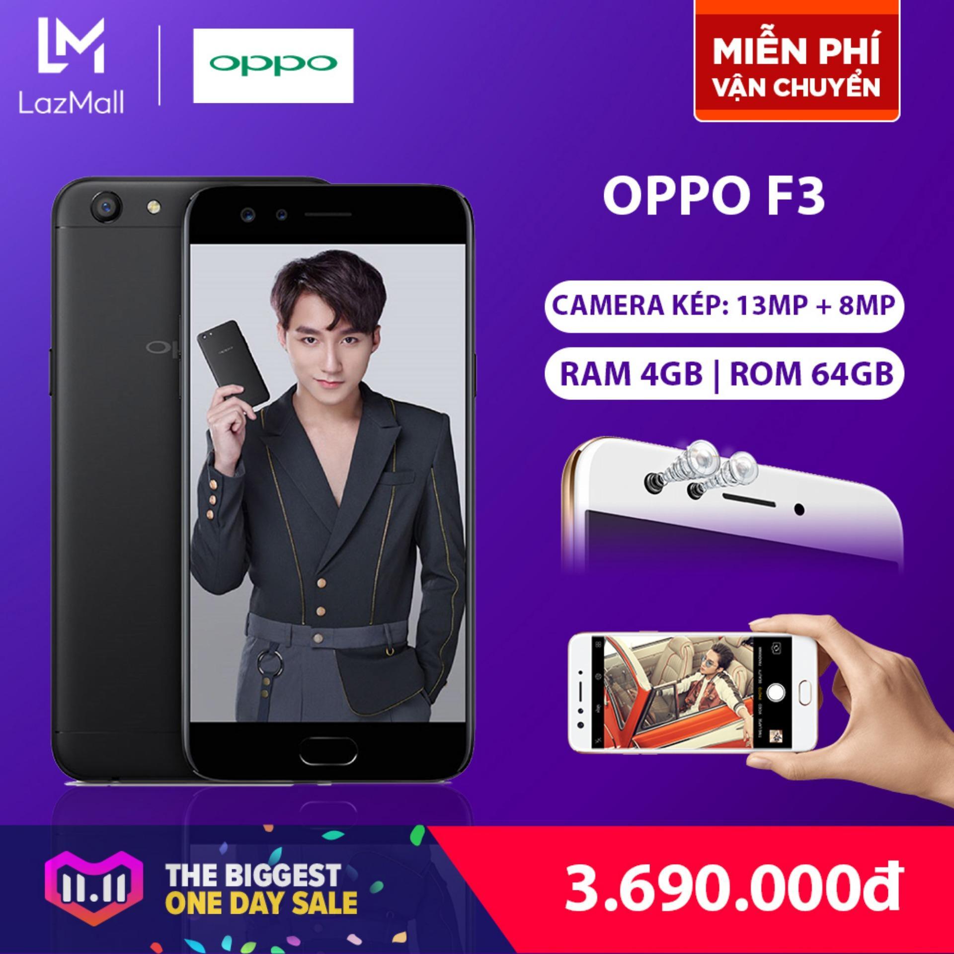 OPPO F3 64GB - Hãng phân phối chính thức