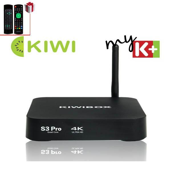 Đầu hd box-  Android box Kiwi s3 Pro, Tiện lợi, Giao diện thông minh -Tivi box gia re tphcm, Tivi box gia re tphcm - Sale Off 50%