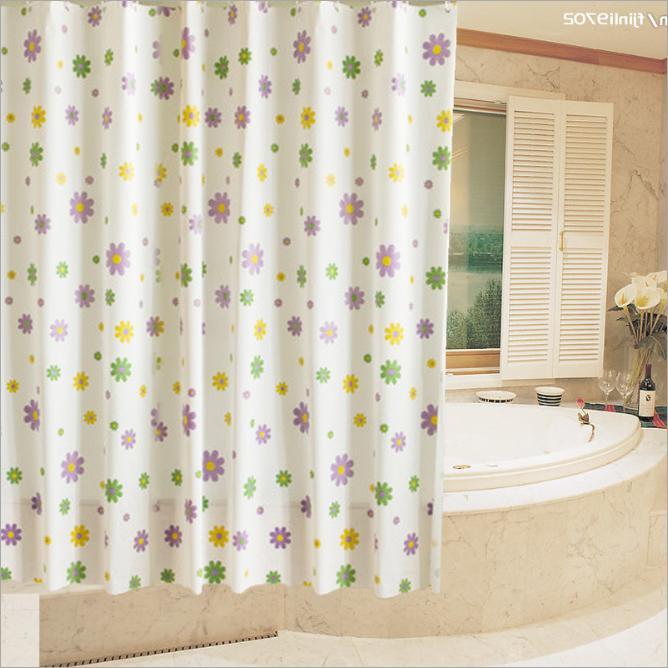 [HCM] Rèm nhà tắm PEVA dài 2m không thấm nước, kèm vòng treo