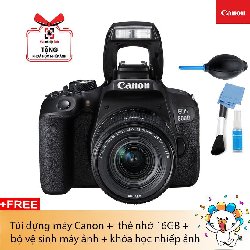 MÁY ẢNH CANON EOS 800D EF-S18-55 IS STM (Lê Bảo Minh)