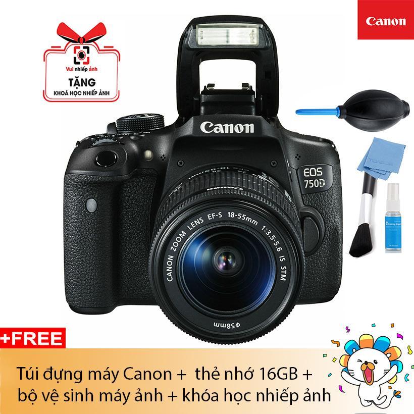 MÁY ẢNH CANON EOS 750D KIT EF S18-55 IS STM (Lê Bảo Minh)
