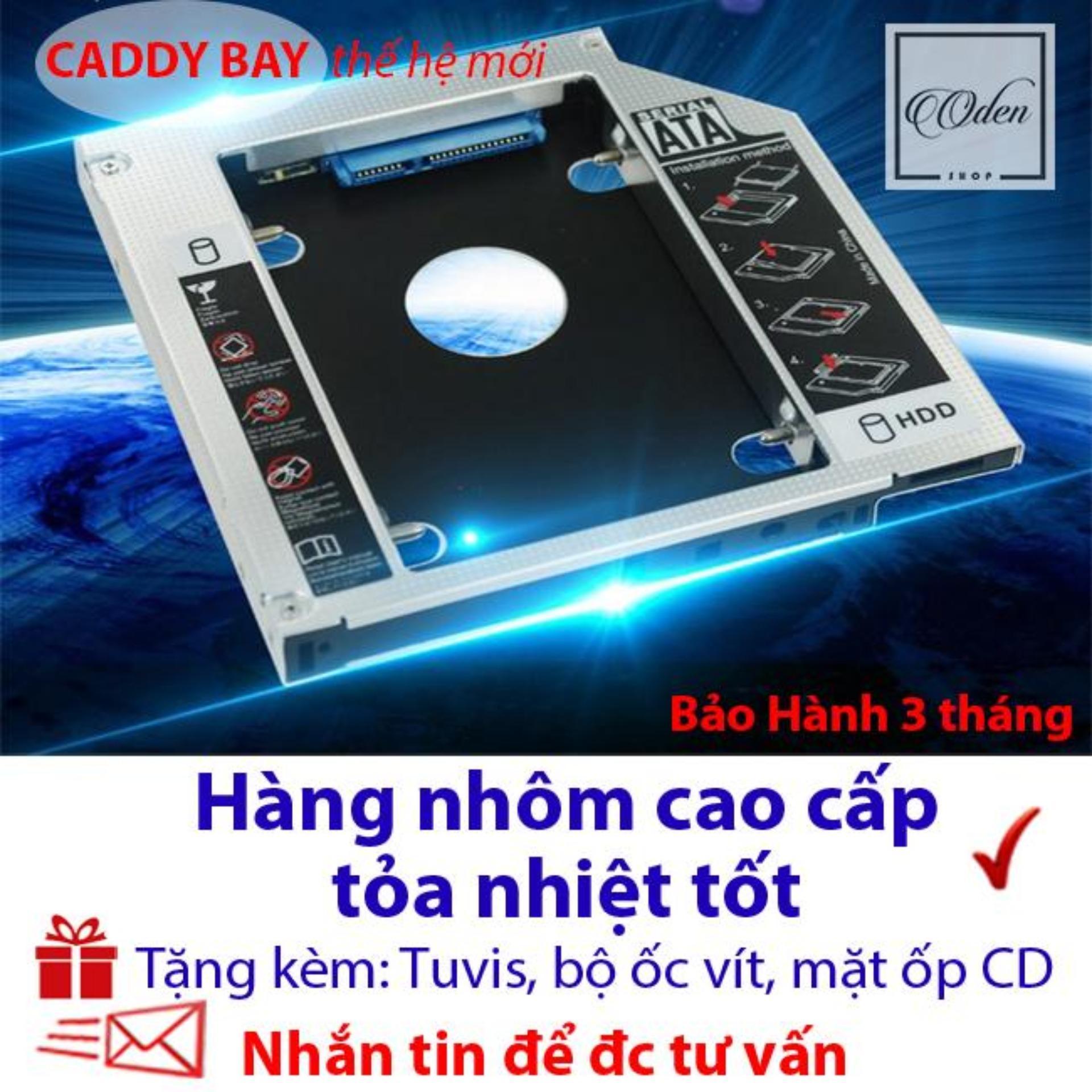 Caddy Bay 9.5mm SATA 3.0 gắn thêm ổ cứng cho Laptop - oden432