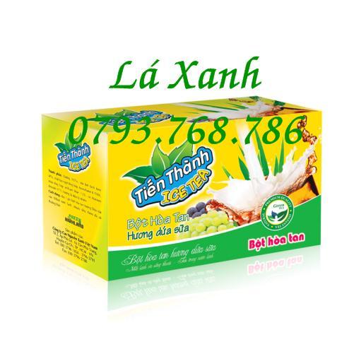 Trà Dứa Sữa Hòa Tan Hộp 24 Gói