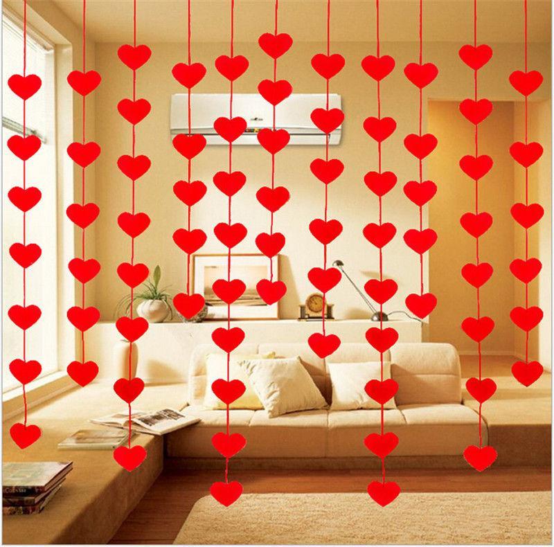 Rèm dây trang trí hình trái tim - Diệp Linh