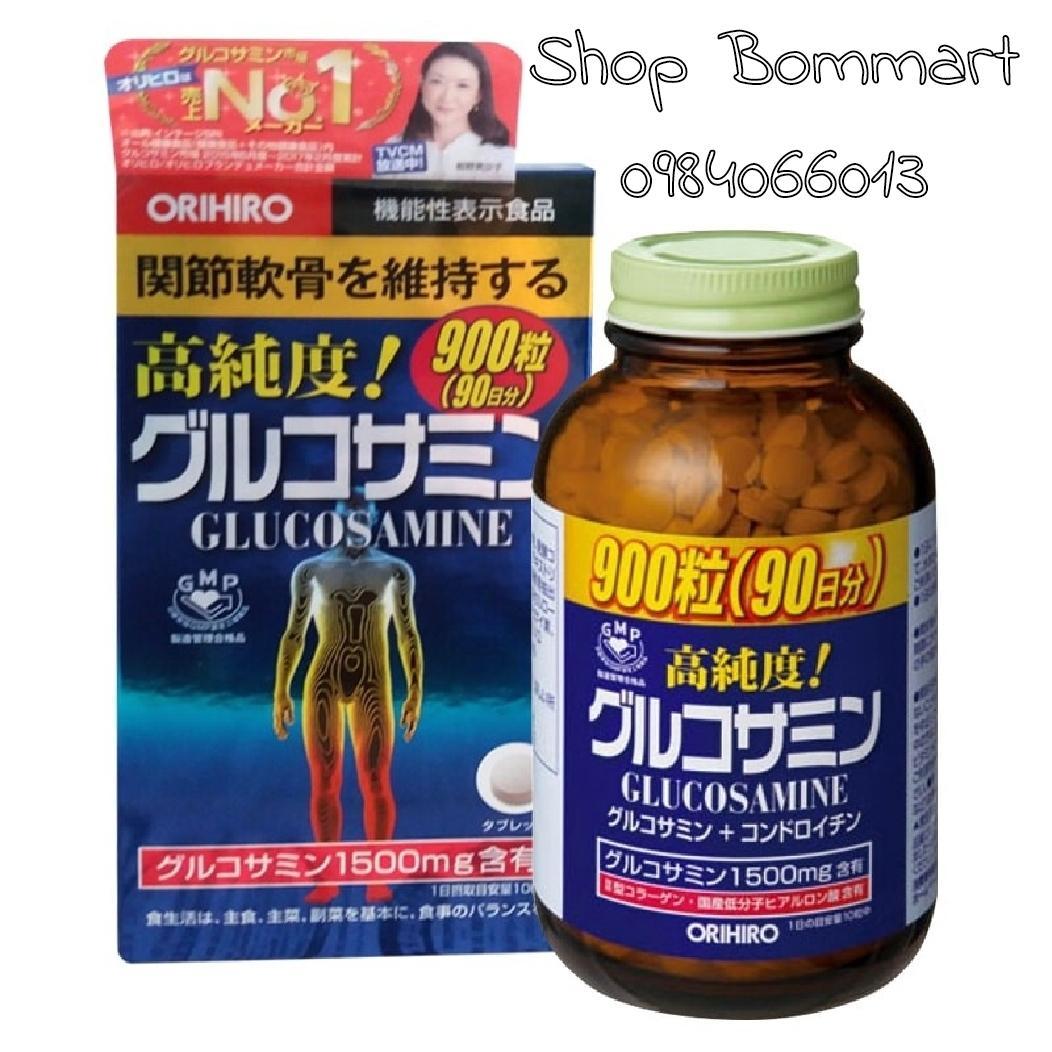 Thuốc bổ xương khớp glucosamine orihiro 900 viên nội địa nhật bản 1500mg