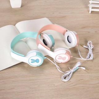 Tai nghe Chụp Tai Headphone Hàn Quốc Rabbit Ears AY-14 mẫu mới nhất 2018 thumbnail