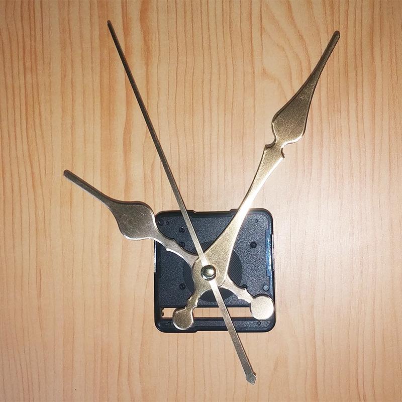 Bộ Kim 12cm và Máy đồng hồ treo tường Đài Loan kim trôi loại tốt