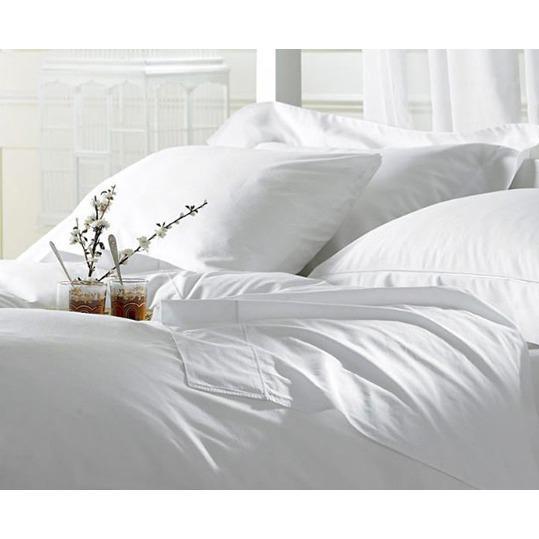 Bộ Drap Cotton Khách sạn trắng trơn 1m/m2/m4/m6/m8