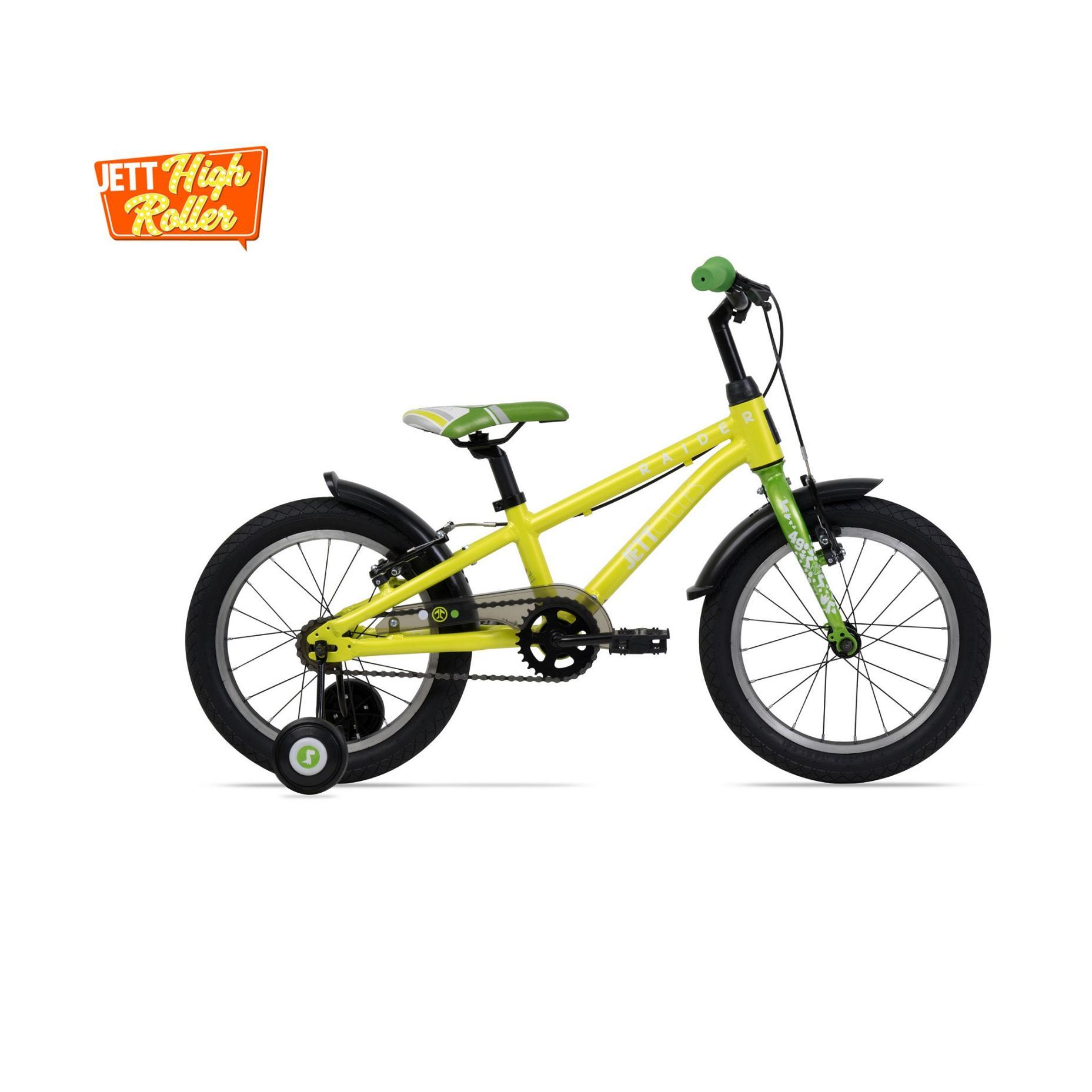 Xe đạp trẻ em Jett Cycles Raider (Vàng Neon)