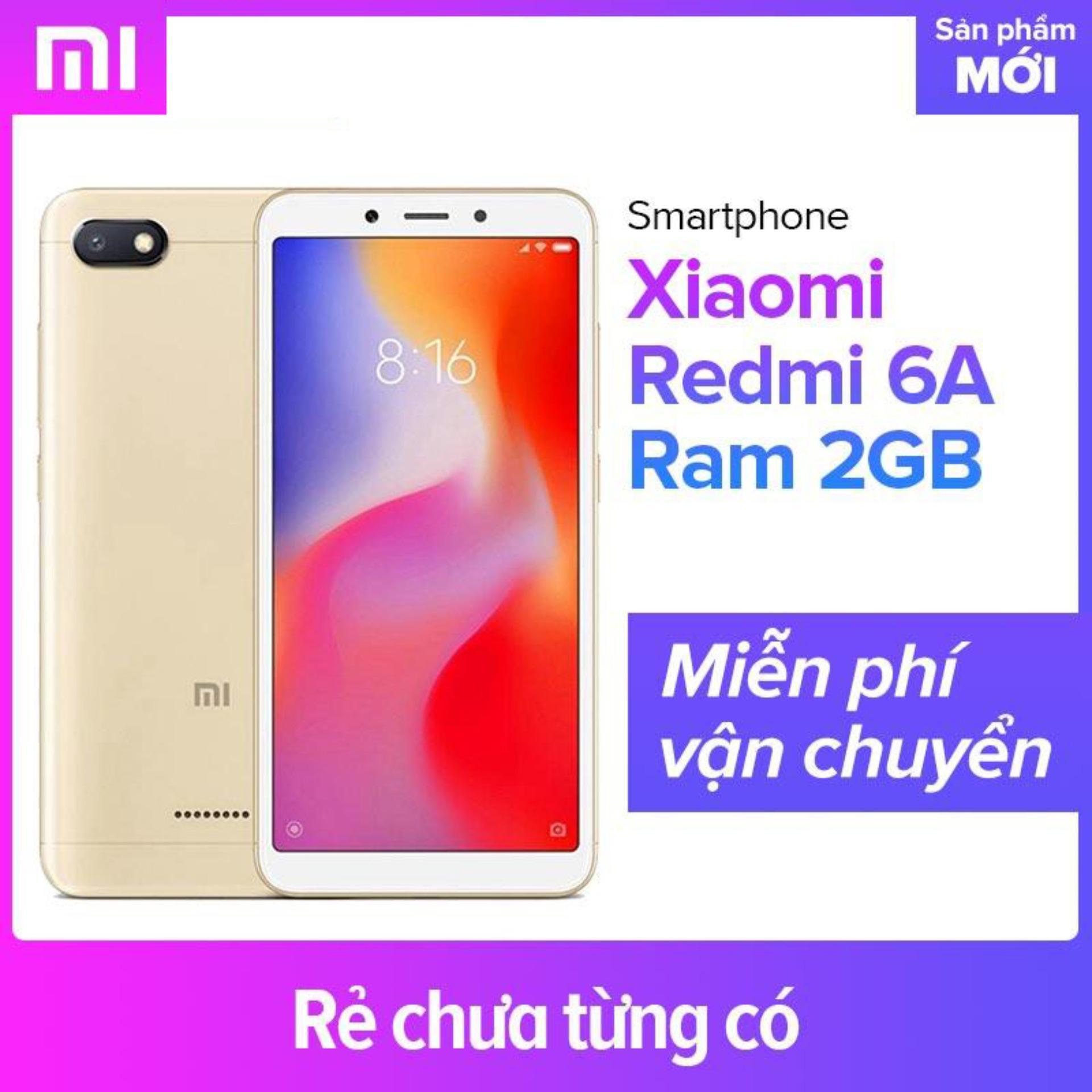 Xiaomi Redmi 6A Ram 2GB - Hãng phân phối chính thức