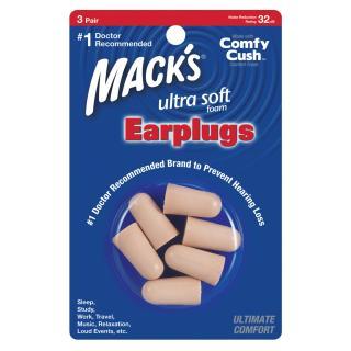 Hộp 3 đôi nút bịt tai chống ồn Ultral Soft Foam - Nhập khẩu Mỹ thương hiệu Mack s thumbnail