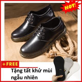 Giày boot nam- Giày da nam M353(T)-DEN thumbnail