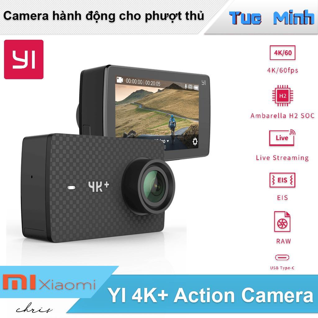 Camera hành động Xiaomi YI 4K Plus Action Camera - Cam dùng cho phượt thủ