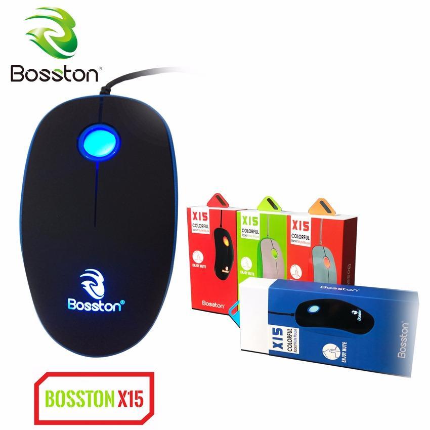 Chuột có dây chuyên game led Bosston X15