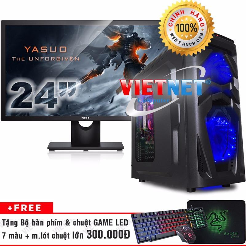 Bộ máy chiến game intel i7 2600 RAM 16GB 2TB + LCD Dell 24 inch (chính hãng VietNet)