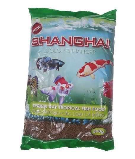 Thức Ăn Cá ShangHai 500g ( Viên nhỏ) - Cám Cá Cảnh