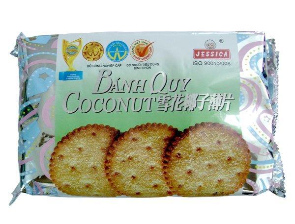 Combo 2 Gói Bánh Quy Bạc Tròn Jessica 170g