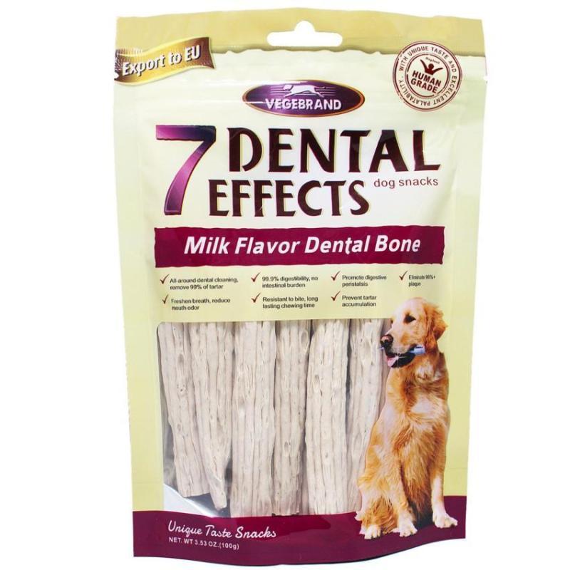Bánh xương Vệ sinh răng cho Chó- 7 Dental Effects. Vị hỗn hợp 100g/gói