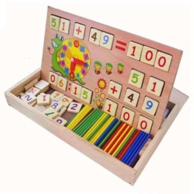 Kết quả hình ảnh cho bảng gỗ toán học thông minh
