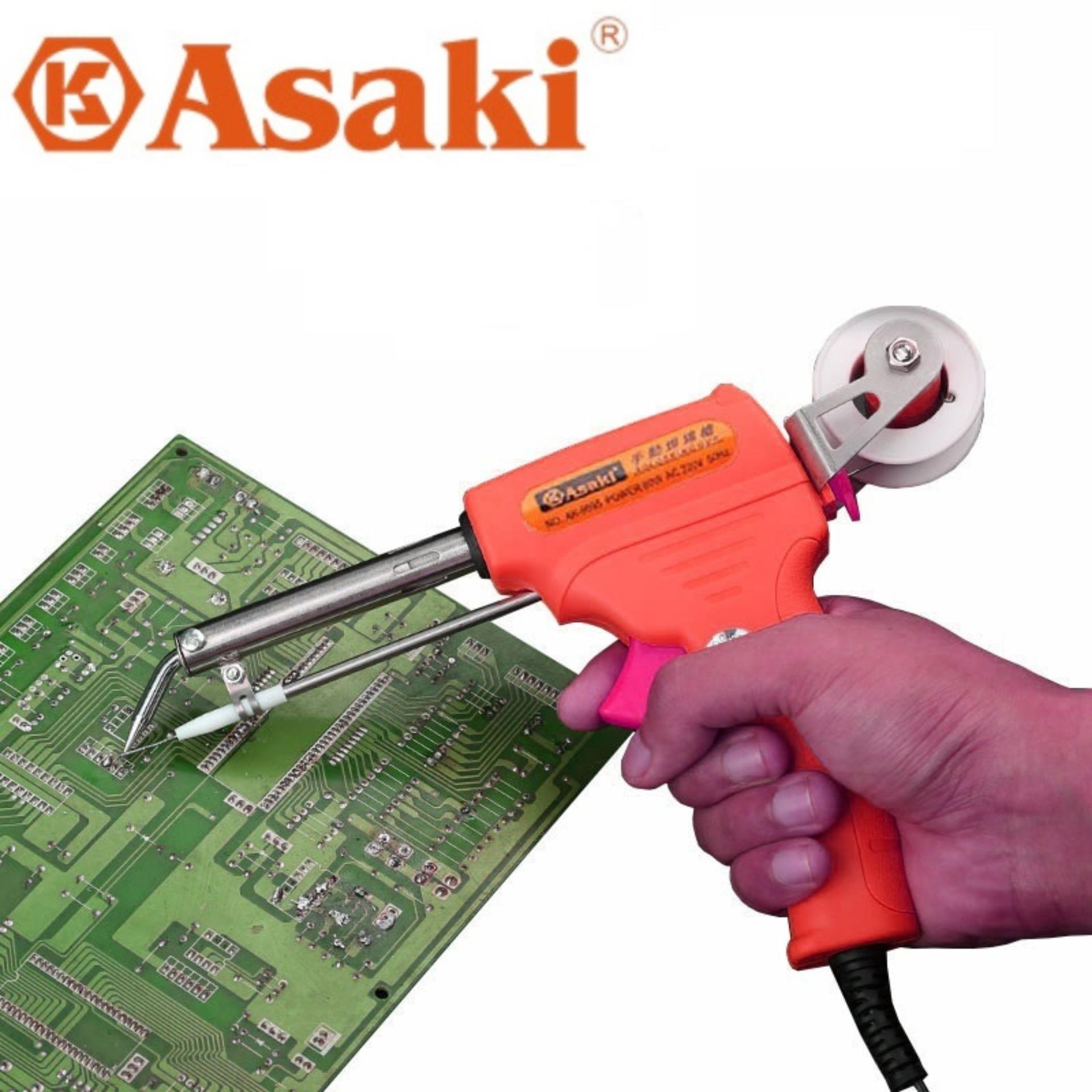 Dụng cụ hàn linh kiện điện tử 60W -Tặng cuộn thiếc hàn - Phụ kiện Sửa chữa máy hàn điện tử