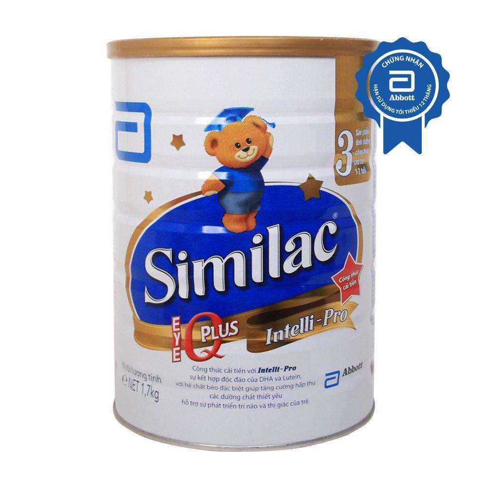 Sữa bột Similac IQ 3 Hương vani 1.7kg