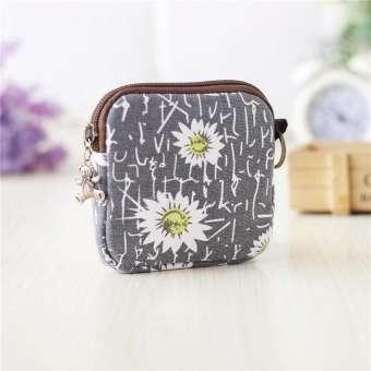 ใหม่สาธารณรัฐเกาหลีน่ารักกระเป๋าตังค์ผ้าใบถุงเหรียญผู้หญิง M ผ้าเช็ดตัวถุงผ้าอนามัยผ้าอนามัยผ้าฝ้ายถุงใช้สำหรับเก็บของ