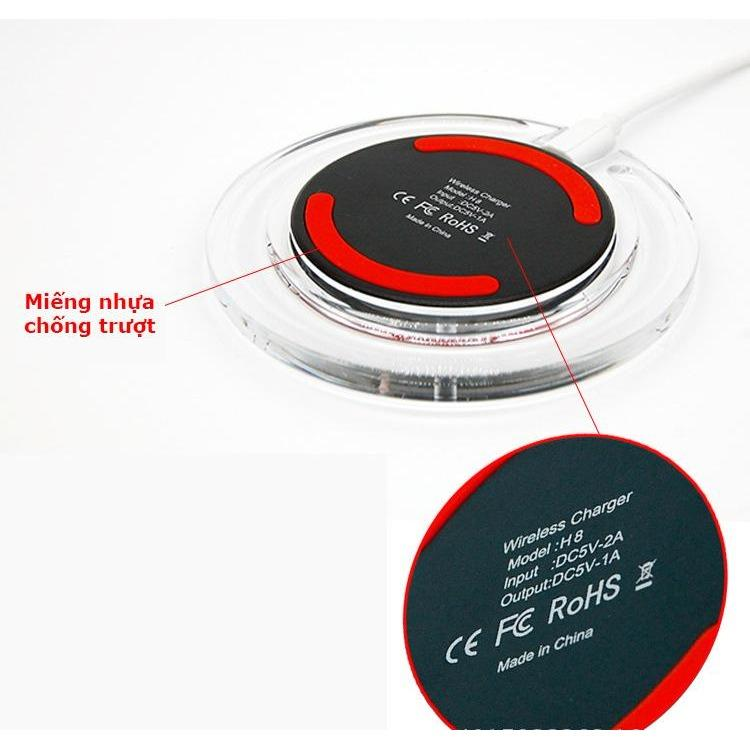 Đế sạc không dây thông minhh chuẩn Qi - Dùng cho Samsung