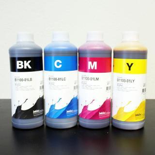 Mực in InkTec Hàn Quốc 1 Lít dùng cho tất cả máy in phun màu Epson L110 L220 L310 L360 L365 L805 L1300... (Bộ 4 màu xanh,đỏ,vàng,đen mỗi chai 1Lit) thumbnail