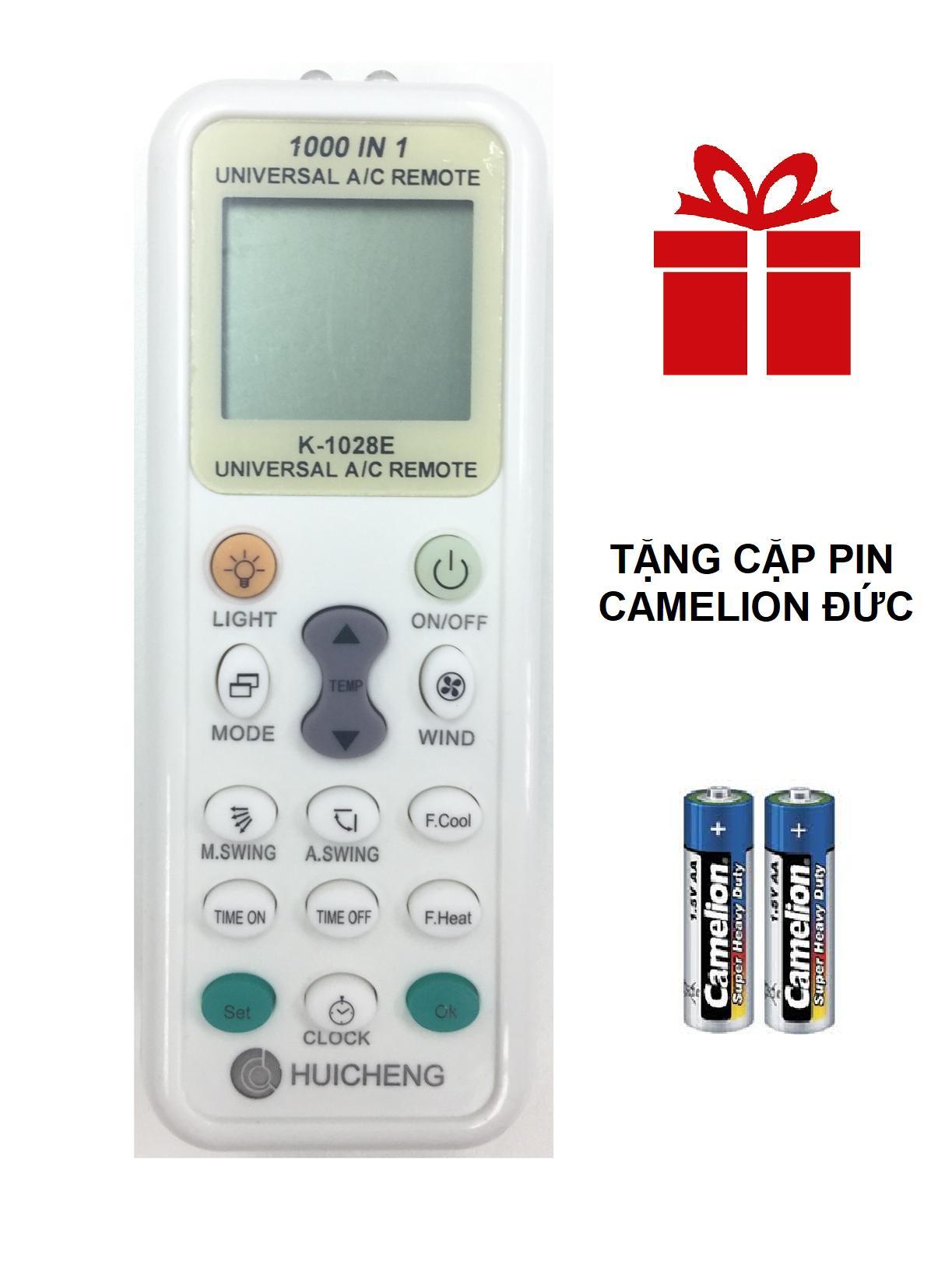 REMOTE MÁY LẠNH ĐA NĂNG HUICHENG K-1028E TÍCH HỢP MÃ 1000 SẢN PHẨM
