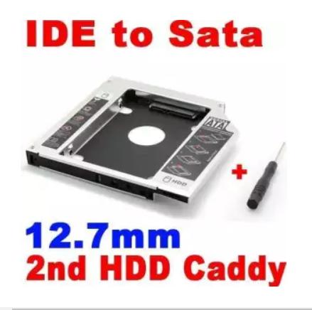 Caddy Bay 12.7mm SATA 3.0 gắn thêm ổ cứng cho Laptop - VN2