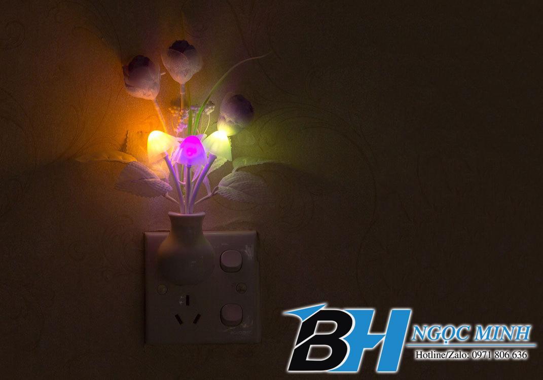 Đèn ngủ Avatar hình nấm cảm ứng, ánh sáng đổi màu