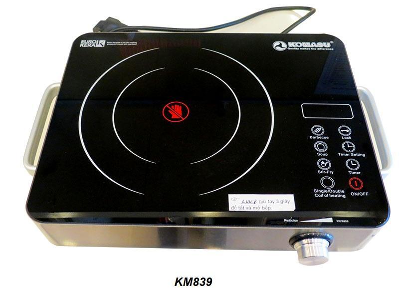 Bếp hồng ngoại Komasu KM839