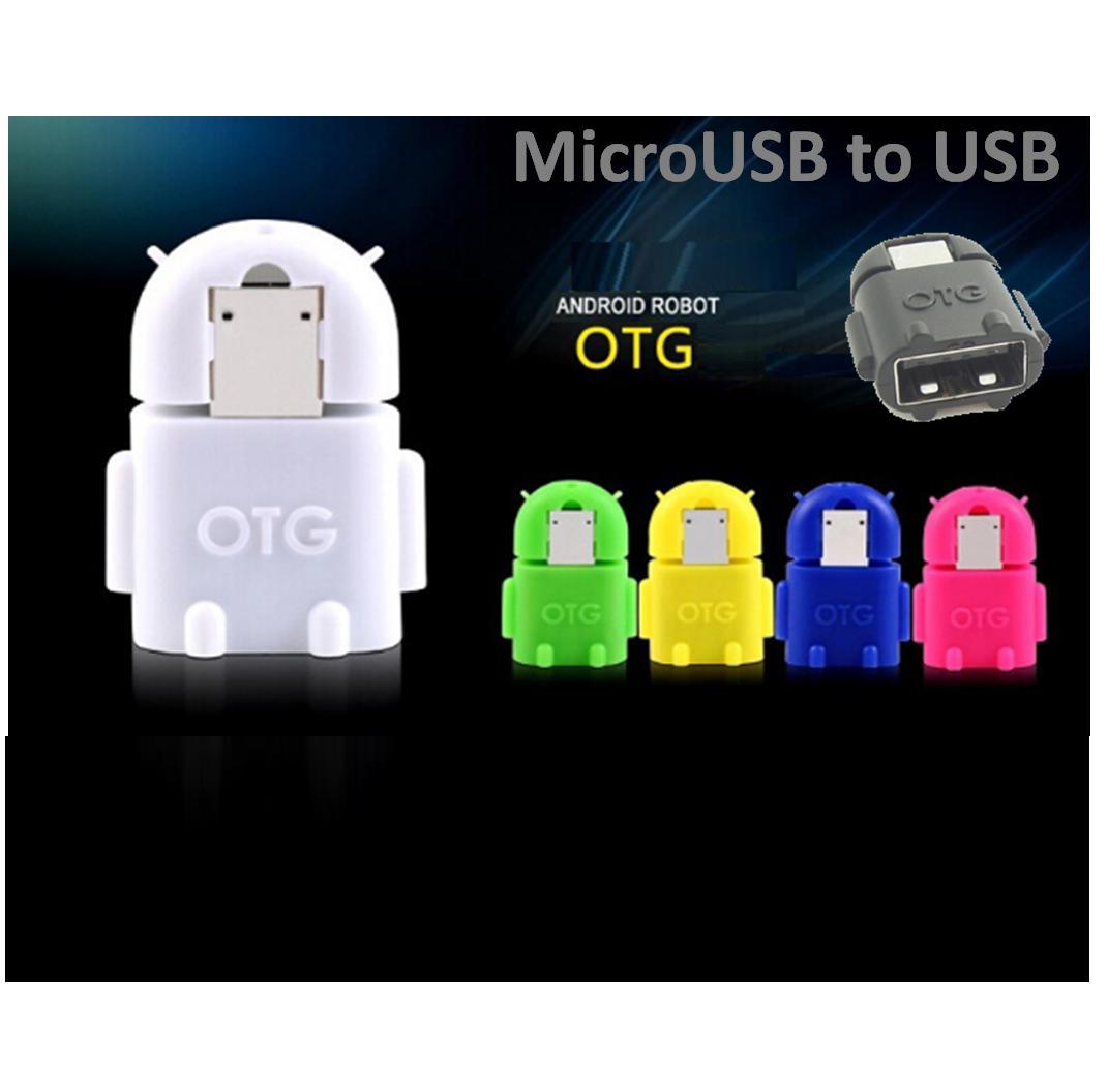 [ GIÁ SỈ ] Combo 10 Cổng Chuyển Đổi OTG - MiniOn USB OTG (Mầu ngẫu nhiên)