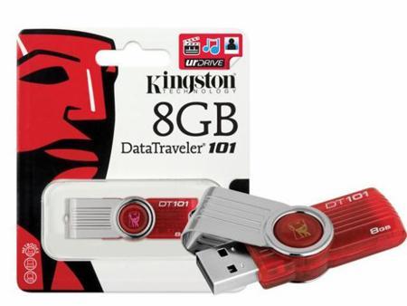 USB KINGSTON DT101 8GB đủ dung lượng, bảo hành 1 đổi 1