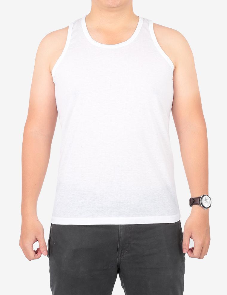 Áo Lót Nam Ba lỗ Choice L (CL) Màu Trắng M-XL/VP