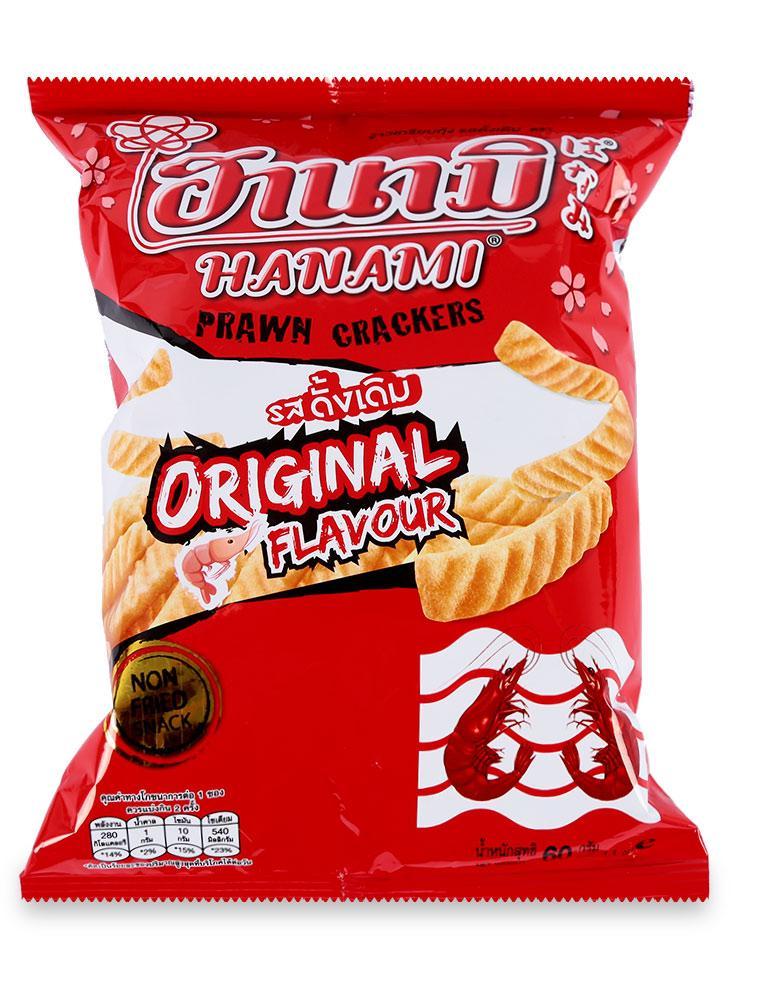 Snack Tôm Hanami Gói 60 G
