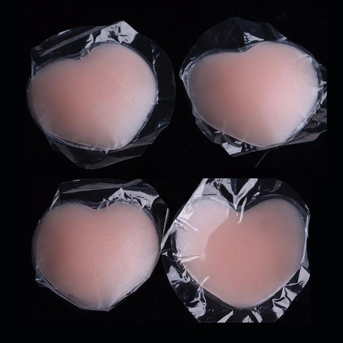 Miếng dán nhũ hoa Silicon (Hình trái tim) Kymisexy