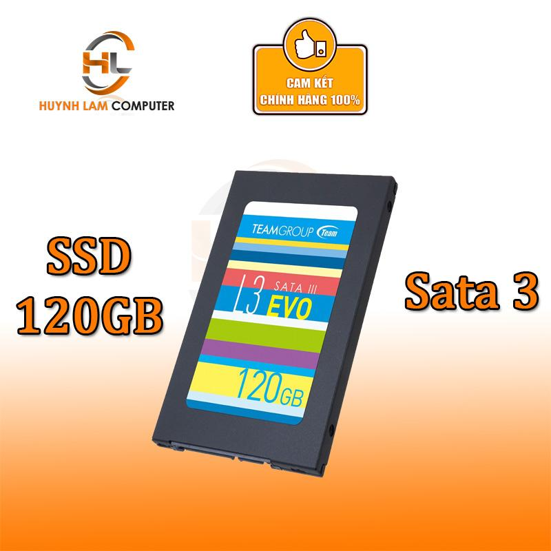 Ổ cứng SSD Team L3 EVO sata III 120GB - Chính hãng Network Hub phân phối