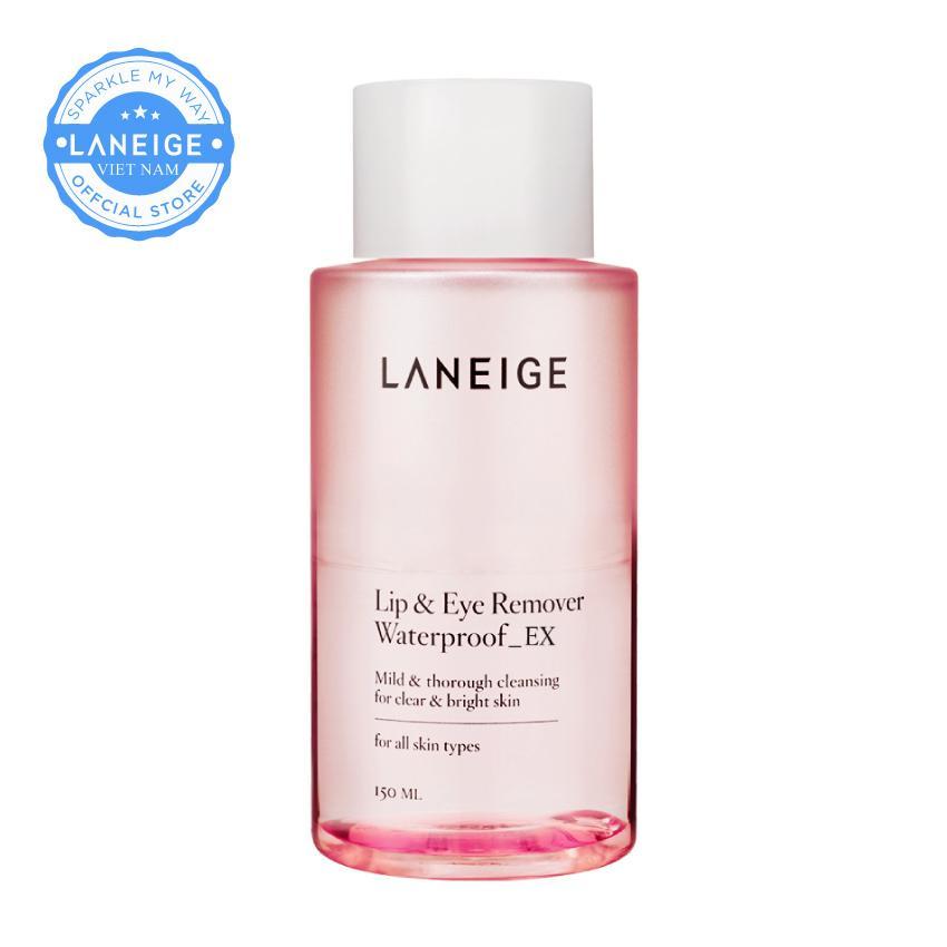 Nước tẩy trang dành cho mắt và môi Laneige Lip & Eye Remover Waterproof Ex 150ml