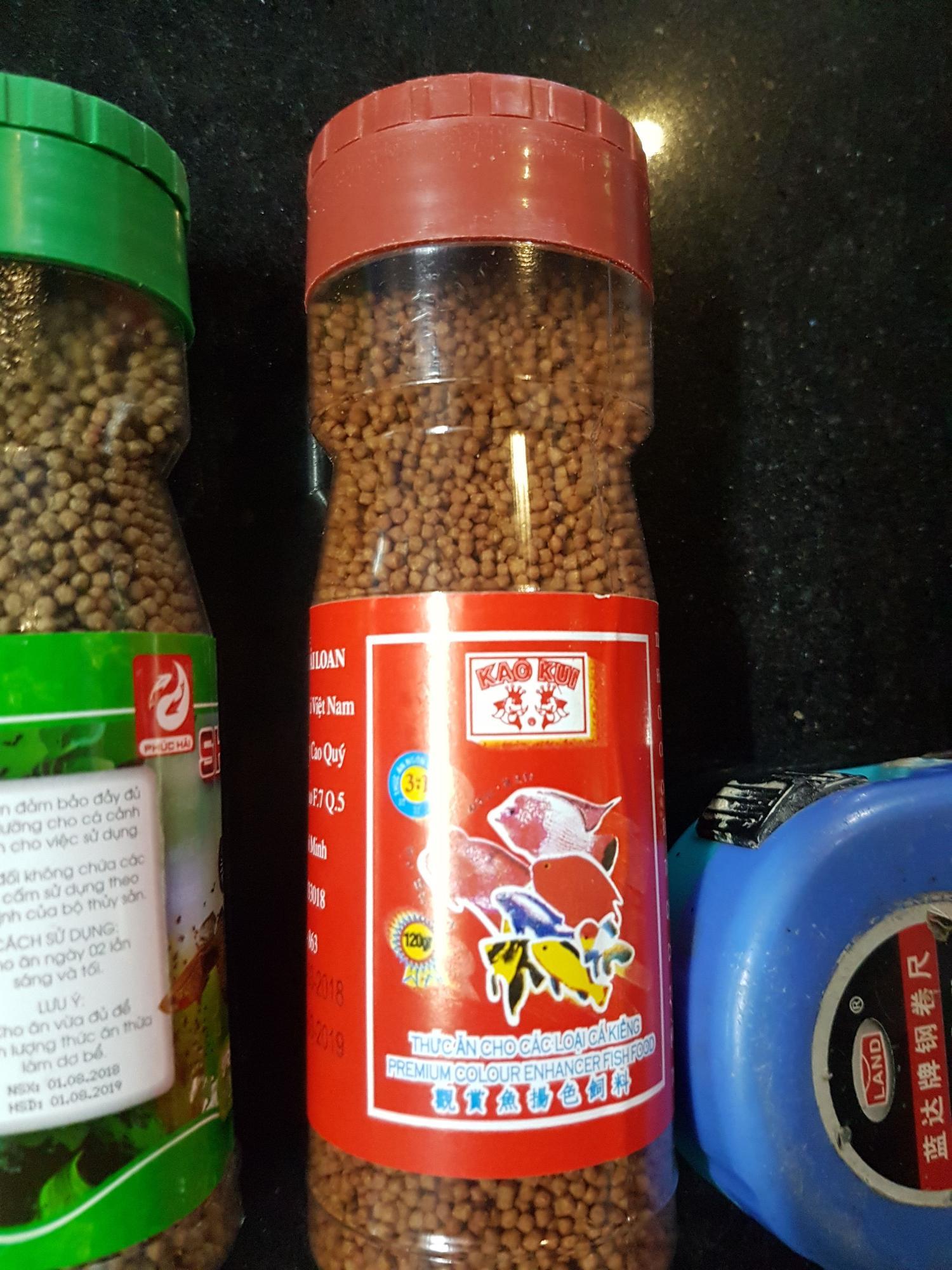 Thức ăn cho cá KAOKUI lọ 130gr