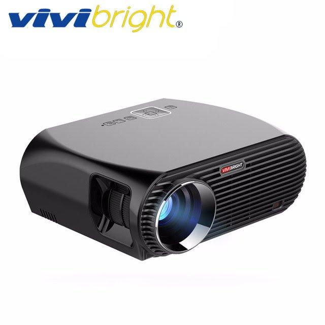 Máy chiếu thông minh ViviBright GP100UP 3500 Lumens Amlogic S905x Android 6.0 Full HD 1080p 2K 4K Bluetooth