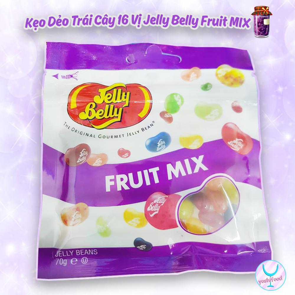 Kẹo Dẻo 16 Vị Trái Cây Jelly Belly Fruit MIX