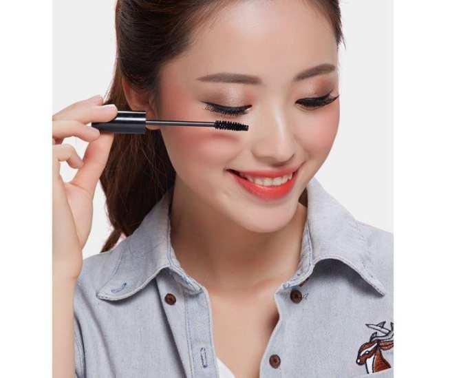 Mascara chuốt mi dày, dài và lông mi 3C makeup ( Đen)