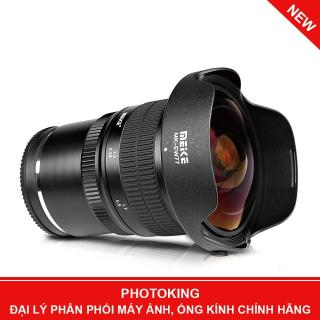 Ống kính Meike 8mm F 3.5 Fisheye Manual Focus Lens (Fuji X mount) thumbnail